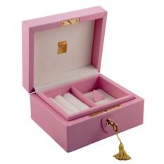Розовая шкатулка для драгоценностей LIVERPOOL