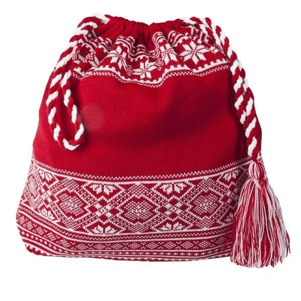 Красная сумка Скандик