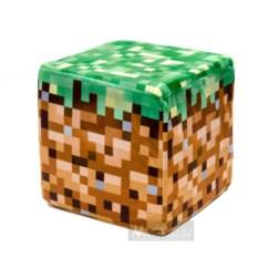 Плюшевый куб-подушка Блок земли