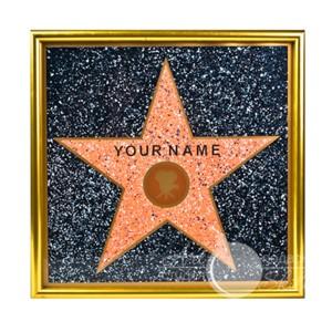 Голливудская звезда. Материал Пластик