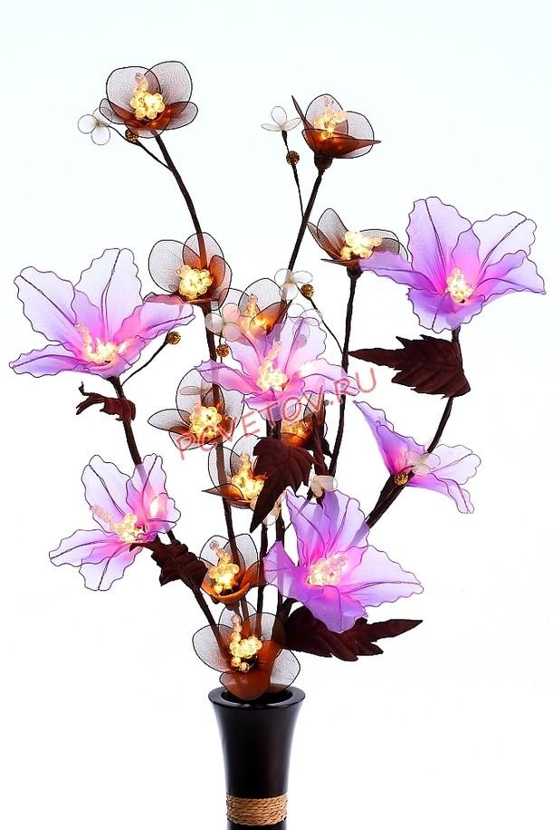 Ночник Фиолетовый цветок