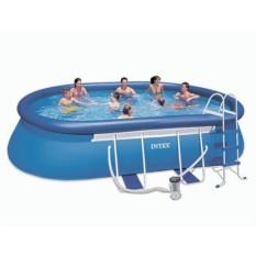 Бассейн Oval Frame Pool с фильтром-насосом
