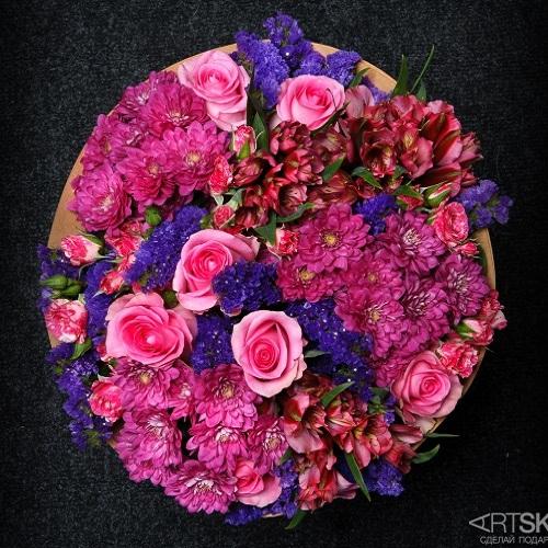 Букет цветов Сиреневое настроение