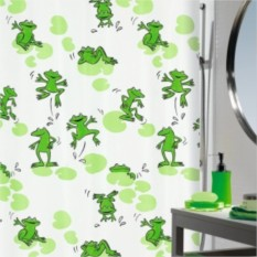 Штора для ванной Frog