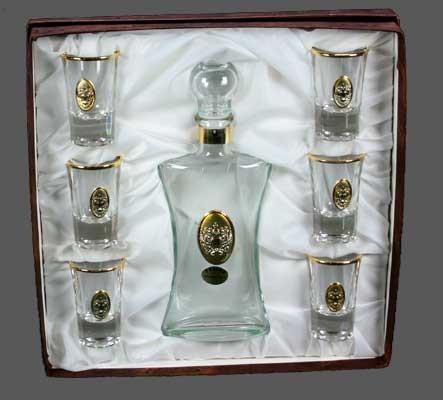 Подарочный набор для ликёра и водки Герб