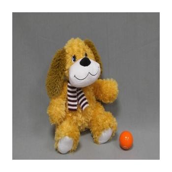 Собака с шарфиком музыкальная