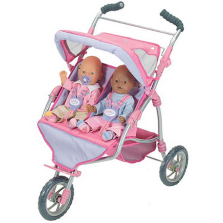 Baby Born Коляска для близнецов