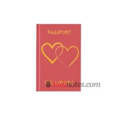 Записная книжка Passport For Lovers от teNeues