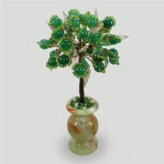Дерево жизни из нефрита