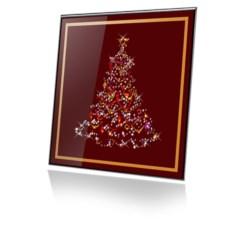 Картина Swarovski Новогодняя елочка