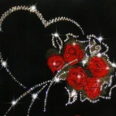 Картина из кристаллов Swarovski «От всего сердца»