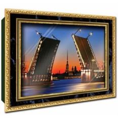 Объемный постер Дворцовый мост от Vizzle