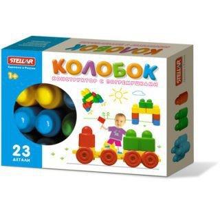 Конструктор Колобок (23 деталей в коробке)