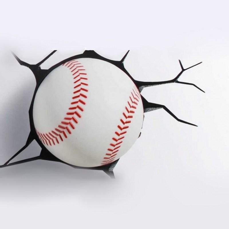 3D светильник Бейсбол