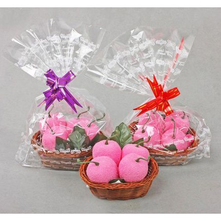 Полотенце «Яблочки розовые»