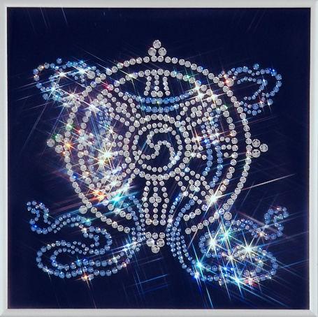Картина с кристаллами Swarovski  Колесо фортуны