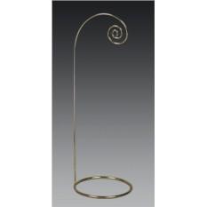 Большая золотая подставка для сувениров с фигурным крючком