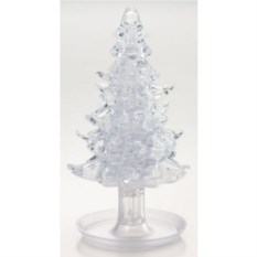 3D головоломка Белая елочка