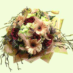Букет цветов «Василиса»