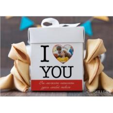 Печенье с предсказаниями Для влюбленных с фото