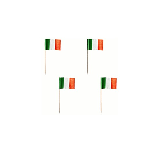 Шпажки для канапе Итальянские флаги