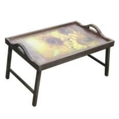 Столик для завтрака с ручками Солнечный букет