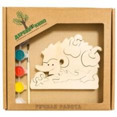 Развивающая игрушка Ежик с грушей с красками