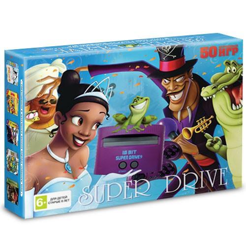 Игра Sega Super Drive Принцесса и лягушка + 50 игр