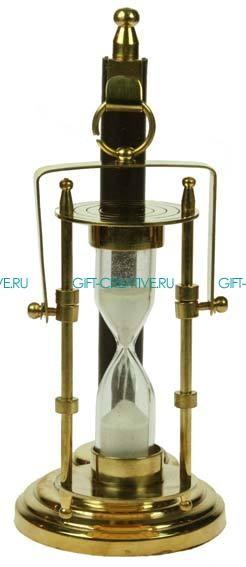 Часы Песочные на подставке на 1 мин