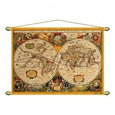 Панно – старинная карта