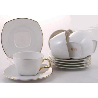 Чайный набор на 6 персон «Бланш»