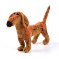 Декоративная фигурка ручной работы Собака