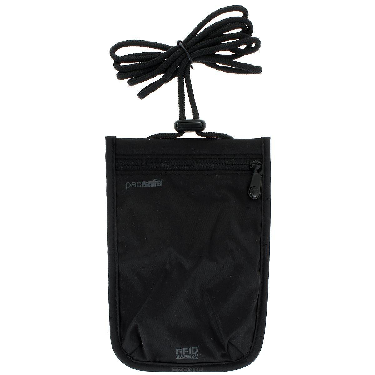 Кошелек PacSafe RFIDsafe 75, черный
