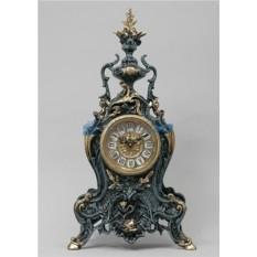 Часы из бронзы Золотая рыбка