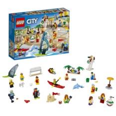Конструктор Lego City Отдых на пляже. Жители Lego City