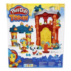 Игровой набор Play-Doh Town «Пожарная станция»