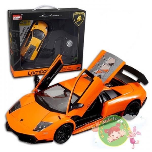 Радиоуправляемая желтая машинка Lamborghini Murcielago