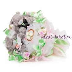 Букет Мятная свадьба
