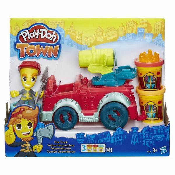 Игровой набор Play-Doh Город Пожарная машина (Hasbro)