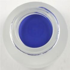 Гелиевая подводка для глаз синего цвета