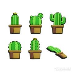 Канцелярские кнопки Cactus