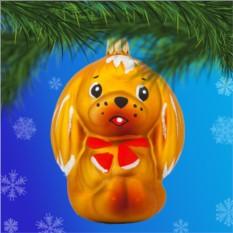 Елочная игрушка «Собачка»