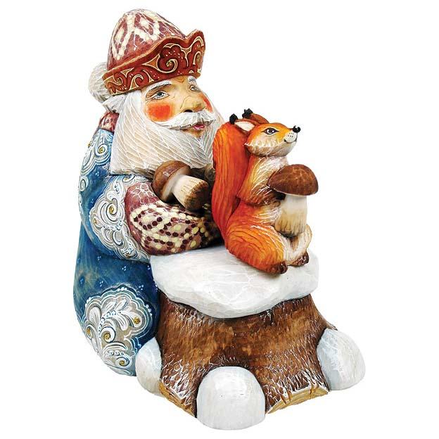 Шкатулка Дед Мороз «Запасы на зиму»