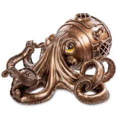 Шкатулка в стиле Стимпанк «Глубоководный осьминог»