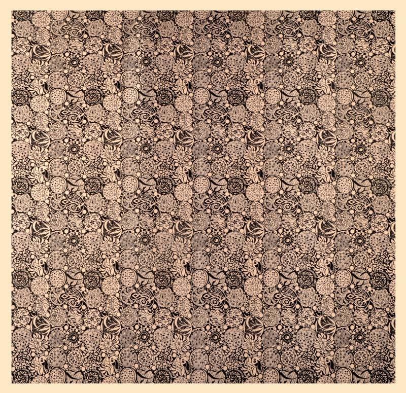 Платок из искусственного шелка F006-289-1