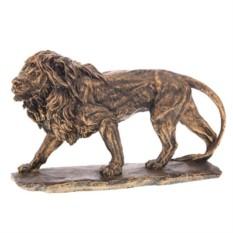 Декоративная фигурка Большой Лев №2 (цвет - бронза)