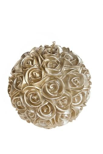 Свеча Розы диаметр - 8 см