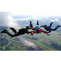 Самостоятельный прыжок с парашютом с высоты 4000 метров
