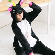 Черный кигуруми Радужный пони