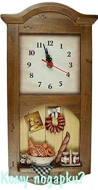 Коллаж-часы «Французская сдоба» (1 крючок)